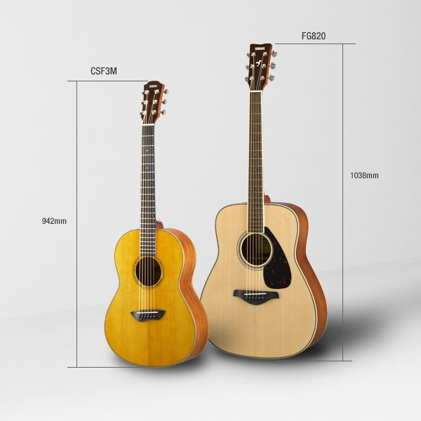 Yamaha CSF Acoustic Guitar