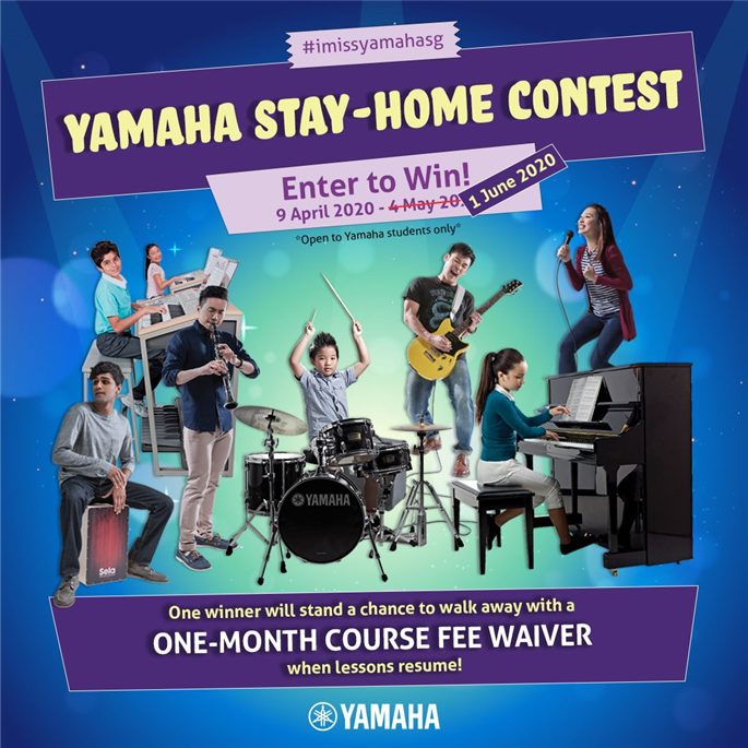 Yamaha Stay-Home Contest