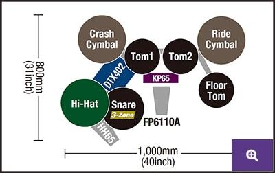 DTX452K Pads