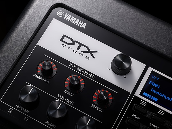 The Kit Modifier featured on the DTX-PRO