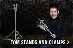 TOM STANDS AND CLAMPS